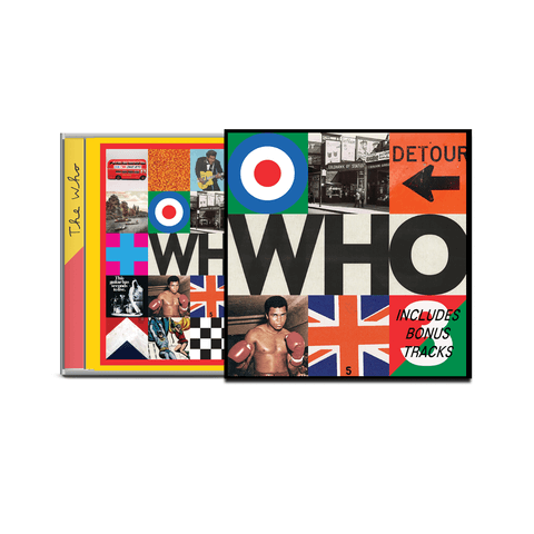 Who (Ltd. Deluxe CD) von The Who - CD jetzt im The Who Shop