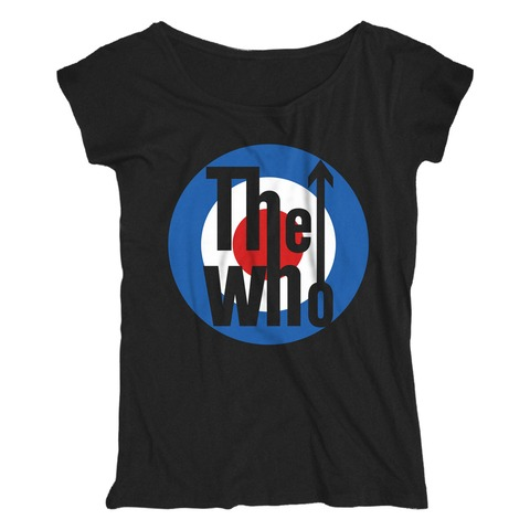 Target Logo von The Who - Loose Fit Girlie Shirt jetzt im The Who Shop